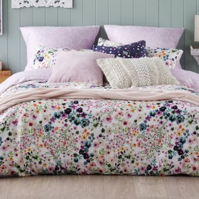 NEW-Ombre-Home-Beautiful-Blossom-Flowers-Quilt-Cover-Set on sale