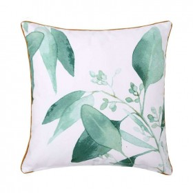 NEW-Ombre-Home-Beautiful-Blossom-Leaf-Printed-Cushion-45x45cm on sale