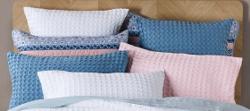 Koo-Oliver-Chunky-Waffle-Quilted-European-Pillowcase on sale