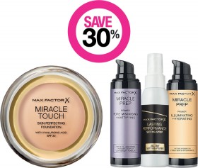 Save-30-on-Max-Factor-Cosmetic-Range on sale