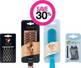 Save-30-on-Lady-Jayne-Hair-Accessory-Brush-Ranges on sale