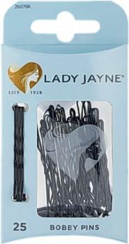 Lady-Jayne-Pins-Bobby-Pins-4.5cm-Black-25-Pack on sale