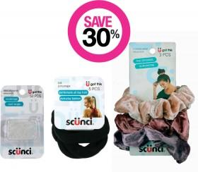 Save-30-on-Scunci-Accessory-Range on sale