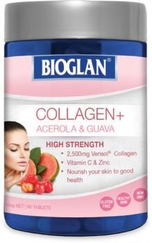 Bioglan-Collagen-Acerola-Guava-90-Tablets on sale