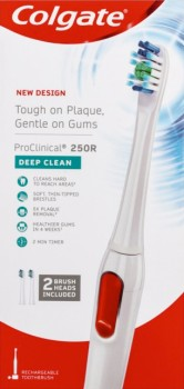 Colgate-ProClinical-250R-Deep-Clean-Electric-Toothbrush-1ea on sale
