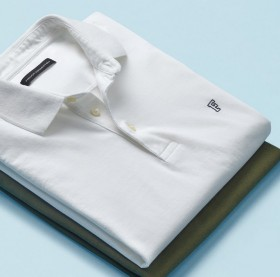 French-Connection-Polo-White on sale