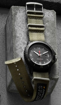 TimeX-Expedition-Watch-in-Black on sale