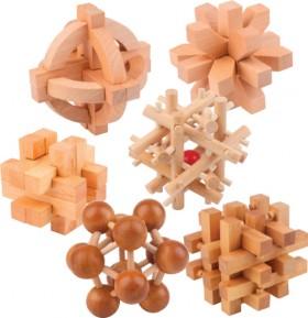 Wooden-Mind-Bender-Puzzle on sale