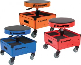 ToolPRO-Roller-Seat-with-Drawers on sale
