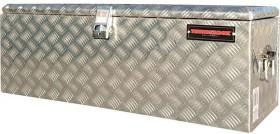 Thunderbox-114-Litre-Aluminium-Checkerplate-Tool-Box on sale