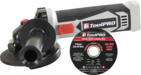 ToolPRO-18-Volt-Angle-Grinder-Skin-Disc-Combo on sale