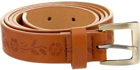 Emerson-Dress-Flower-Embossed-Belt on sale