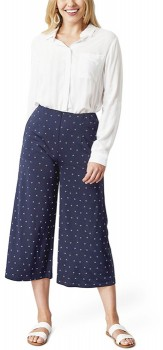 me-Navy-Print-Culotte on sale