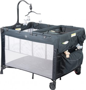 Steelcraft-4-in-1-Melange-Portable-Cot on sale