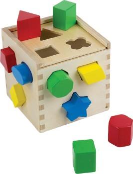 Melissa-Doug-Shape-Sorting-Cube on sale