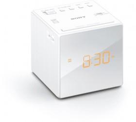Sony-Clock-Radio-AMFM-White on sale