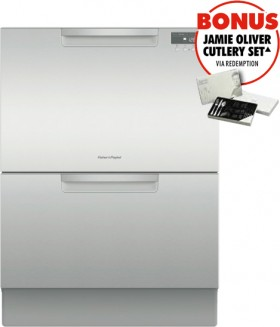Fisher-Paykel-60cm-Double-Dishdrawer on sale