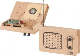 Cardboard-Radio-Construction-Kit on sale