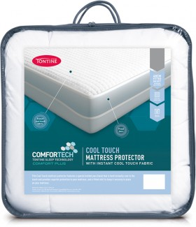 40-off-NEW-Tontine-Comfortech-Cool-Touch-Mattress-Protector on sale