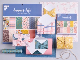 25-off-NEW-Francheville-Summer-Life-Paper-Pads on sale