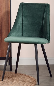 House-Home-Velvet-Pleated-Dining-Chair on sale