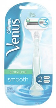 Gillette-Venus-Sensitive-Smooth-2-Pack on sale