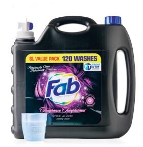 Fab-6-Litre-Laundry-Liquid on sale