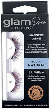 Glam-By-Manicare-Glam-Pro-Magnetic-Lashes-64.-Willow-1-Pair on sale
