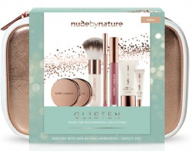 NEW-Nude-by-Nature-Glisten-Gift-Set on sale
