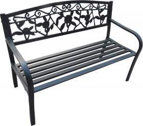 Cornwell-2-Seat-Steel-Bench on sale