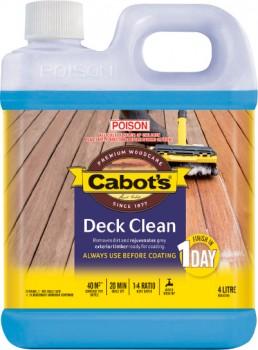 Cabots-Deck-Clean-4L on sale