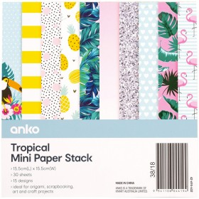 15x15-Tropical-Paper-Stack on sale