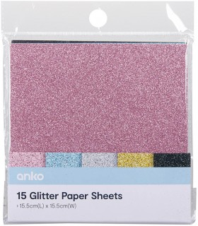 15x15-Glitter-Card-Stack on sale