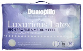 Dunlopillo-High-Profile-Luxurious-Latex-Pillow on sale