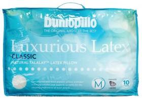 Dunlopillo-Classic-Profile-Luxurious-Latex-Pillow on sale