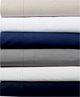 Bella-Russo-250-Thread-Count-Cotton-Percale-Sheet-Set on sale