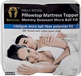 Ramesses-1000GSM-Pillowtop-Mattress-Topper on sale