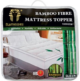 Ramesses-1000GSM-Bamboo-Fibre-Mattress-Topper on sale