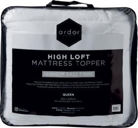 Ardor-1500GSM-High-Loft-Mattress-Topper on sale