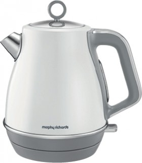 Morphy-Richards-Evoke-1.5L-Jug-Kettle-White on sale