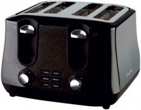 Russell-Hobbs-Siena-4-Slice-Toaster-Black on sale