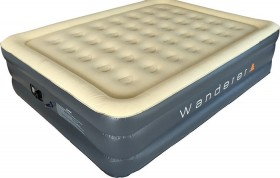 Wanderer-Premium-Double-High-Queen-240V-Pump-Airbed on sale