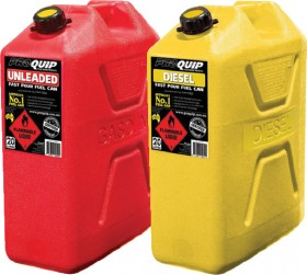 Pro-Quip-20L-Plastic-Fuel-Jerry-Cans on sale