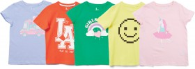 Brilliant-Basics-Kids-Print-Tees on sale