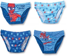 4-Pack-Kids-Character-Briefs-Spiderman on sale