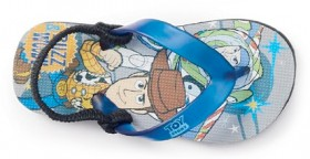 Disney-Infant-Boys-Toy-Story-Thongs-Grey on sale