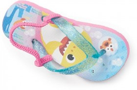 Pinkfong-Baby-Shark-Thongs-Pink on sale