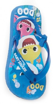 Pinkfong-Baby-Shark-Thongs-Blue on sale