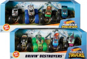 Hot-Wheels-Monster-Trucks-4-Pack-164-Scale-Collection on sale