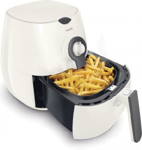 Philips-Daily-Airfryer-WhiteCashmere-Handle on sale